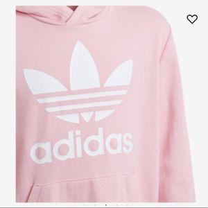 adidas Shirts & Tops - adidas Originals Adicolor Trefoil Hoodie